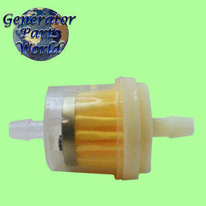 Inline Fuel Filter Fo Champion 17100 z6h 00016x 100157 1900 2200 46555 Generator