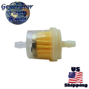 Inline Fuel Filter For Champion 65505 65529 C44020 C44025 118cc Gas Water Pump