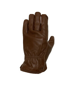 Leather Work Gloves Cowhide Driver Protection Welding Safety Waterproof