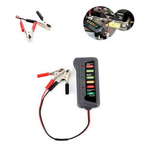 Digital 12v Car Battery Test Analyzer Auto Led Motor Alternator Charging System