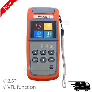 Mini Optical Time Domain Reflectometer Otdr Built in Vfl Function Jw3305a