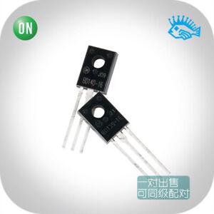 2 20pairs On Bd139 16 Bd140 16 To 126 Audio Transistor a Pair For Sale