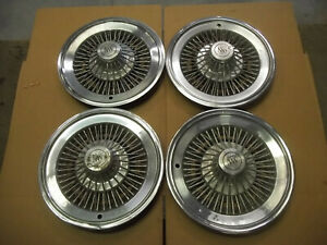 73 75 76 77 78 Buick Century Regal Riviera Hubcap Wheel Cover Hub Cap 15 Wire 4