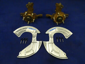 94 95 Ford Mustang Front Spindle 5 Lug Disc Brake Foxbody Conversion Lh Rh Pair