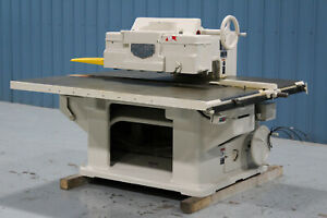 Mattison Model 404 Straight Line Rip Saw