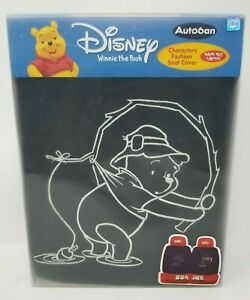 Disney Winnie The Pooh Front Car Seat Covers 3pc Set Auto Accessories