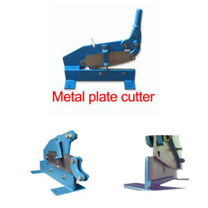 Stamping Embossing Photopolymer Thin Metal Plate Cutter manual Cutting Machine