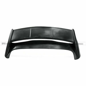 For Ford Fiesta St 13 17 Rs Style Frp Unpainted Rear Trunk Spoiler Wing Lip