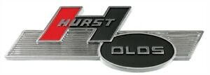 Restoparts C230019 Hurst Olds Fender Trunk Emblem 1969 72 Cutlass Each