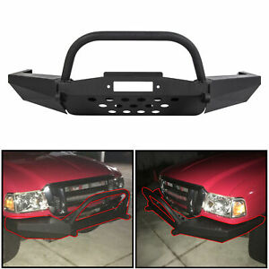 For 1998 2011 Ford Ranger Modular Front Winch Bumper With Bull Bar