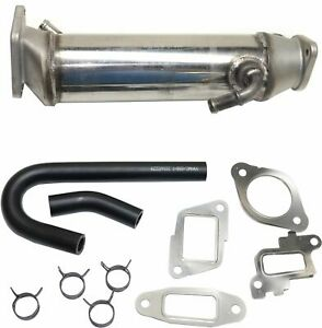 Stainless Egr Cooler Kit Fits 2006 2007 Chevy Gmc Hd 6 6l Duramax Turbo Diesel