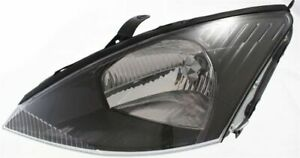 Headlight For 2003 2004 Ford Focus Driver Side W Bulb