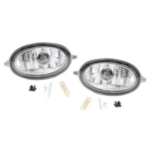Set Of 2 Clear Lens Fog Light For 98 07 Honda Accord Lh Rh Capa W Bulbs