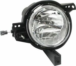 Clear Lens Fog Light For 2012 13 Kia Soul Rh Capa Plastic Lens W Bulb