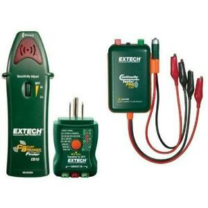 Extech Cb10 Circuit Breaker Finder With Remote And Continuity Tester
