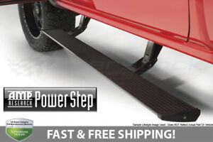Brand New Amp Research Power Step Bars Running Boards With Plug