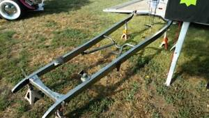 Rjays Speed Shop 1928 31 Model A Ford Perimeter W brackets Chassis Frame Us Made