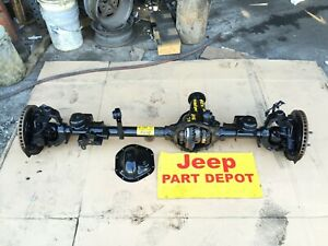 2015 Jeep Wrangler Jk Front Differential Rubicon E Locking Axle Dana 44 4 10