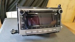 Toyota Venza Radio Stereo Receiver Mp3 Cd Player Bluetooth A518ac 86120 0t090