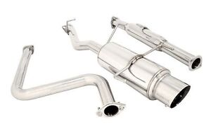 Megan Na Type Cat Back Exhaust For 92 96 Honda Prelude Si Bb2 H23a1 2dr
