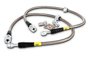 Stoptech Stainless Steel Rear Brake Lines For 06 11 Honda Civic