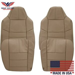 2008 2009 2010 Ford F 250 F 350 Lariat Xlt Leather Seat Cover In Camel Tan