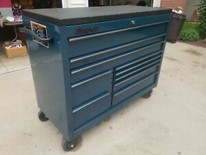Snap On 55 10 Drawer Double Bank Classic Series With Power Drawer And Speedrawe