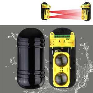 Beam Alarm Dual Photoelectric Infrared Detector Module 30m System Security Home
