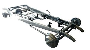 Rjays Speed Shop 1932 Ford Chassis Hot Street Rod Dropped Axle Ladder Bars