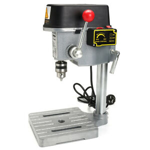 Raitool 340w Mini Benchtop Drill Press Compact Drill Wood Drilling Machine Bench