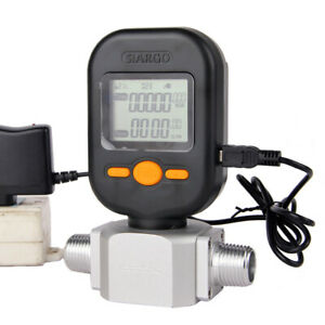 Mf5712 Flow Meter 200l min Digital Gas Air Nitrogen Oxygen Mass Flow Meter