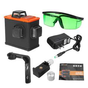 Blue Light 12line 360 Laser Level Upper Wall Bracket Self leveling Convenient