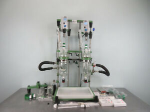Chemglass Chemrxnhub Lab Reactor System With Dlh Stirrers And Warranty See Video