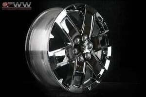 New 20 Replacement Rim Gmc Acadia Denali 2010 2016 Cladded Chrome Wheel