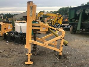 Belltec 3 Point Mount Post Hole Digger Auger Drill Post Holes In Solid Rock