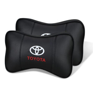 Car Headrest Neck Rest Pillow Cushion For Toyota