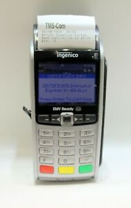 Ingenico Iwl255 01t1543a Wireless Credit Card Reader Terminal
