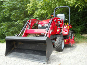 Massey ferguson Gc1715 With Loader And 60 Mower Deck Only 68 Hours