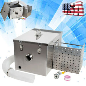 Stainless Steel Grease Trap Interceptor accessories For Restaurant Kitchen Tool