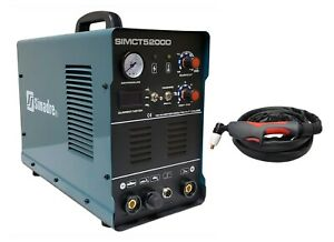 Plasma Cutter 50a Simadre 110 220v 5200d 200a Tig Arc Mma Welder Power Torch