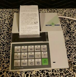 Mettler Toledo Lc p45 Printer Choose Your Cable Working Great For Balance Scale