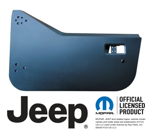 Driver Side Half Door Shell For 1997 2002 Tj Jeep Wrangler
