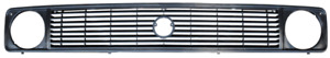 Grille Upper Section For 1980 1985 T3 Volkswagen Transporter