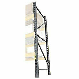 Double Slotted Pallet Rack Upright Frame 120x42
