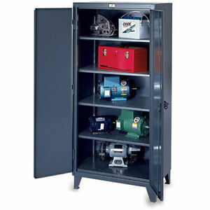 Strong Hold Ultra capacity Lifetime Cabinet 36x24x78 Steel Dark Gray Lot
