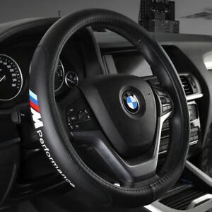 15 Car Steering Wheel Cover Genuine Leather For Bmw Fashion