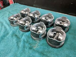 289 302 Ford Speed Pro H654cp Std Pistons Rings 4 000 Bore Excellent Condition