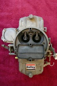 Corvette chevrolet Holley Carb Used Original Dated 0637 list 3310 2