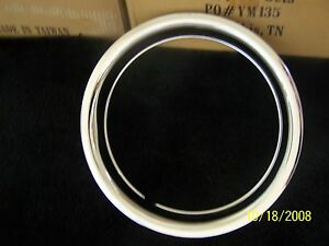 16 Steel Wheel Beauty Trim Ring Chevy Ford Gm Gmc Dodge Single 16 Scratch Dent