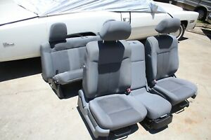 Ford F150 Set Of Seats Front And Rear 09 10 11 12 13 14